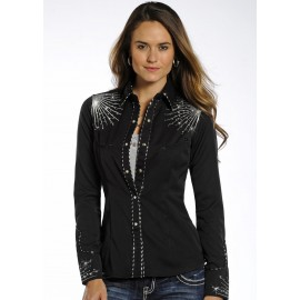 CAMICIA BLACK NIGHT PANHANDLE