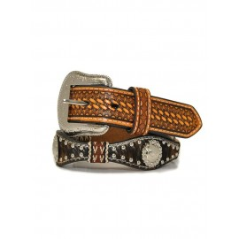 CINTURA JUNIOR SCALLOP CALF HAIR RIBBON NOCONA