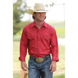 CAMICIA RED PEARL SNAP CINCH