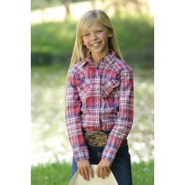 CAMICIA JUNIOR PINK PLAID CRUEL