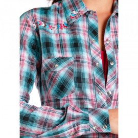CAMICIA LONG SLEEVE SNAP PANHANDLE SLIM