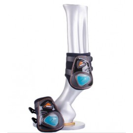 ESHOCK CLASSIC SNAP CLOSE REAR FETLOCK PROTECTION BY EQUICK