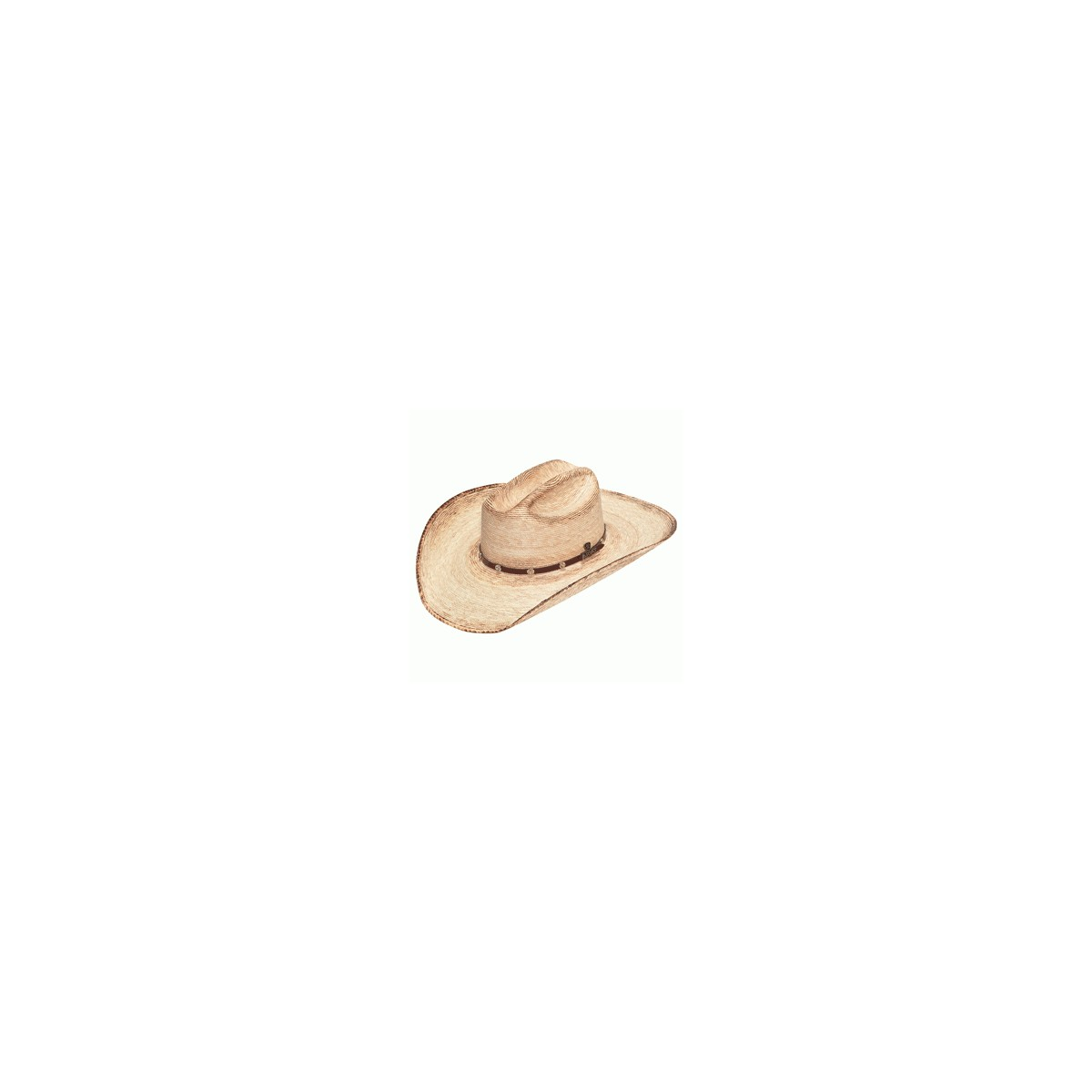 406656dec8166 CAPPELLO ARIAT DOUBLE S FIRED PALM STRAW