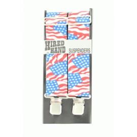 BRETELLE NOCONA AMERICAN FLAG 121 cm