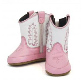 BABY BOOTS PINK OLD WEST