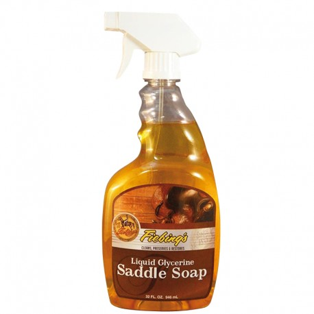 LIQUID GLYCERINE SADDLE SOAP FIEBING'S 946 ML