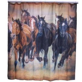 TENDA DOCCIA RUNNING HORSES