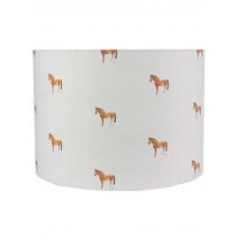 HORSES LAMPSHADE GRAY'S