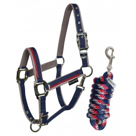CAVEZZA NYLON C/LUNGHINA RED TRIM EQUESTRO