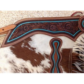 CHAPS CHINKS COWHIDE