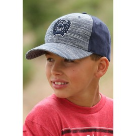 BERRETTO NAVY SNAP BACK JUNIOR CINCH
