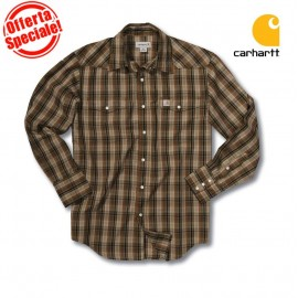 CAMICIA SNAP FRONT PLAID CARHARTT