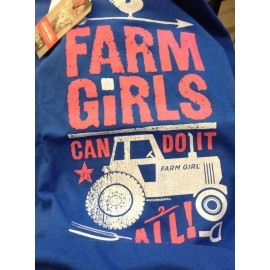 T-SHIRT BIMBA FARMGIRL