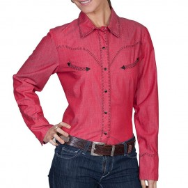 CAMICIA RED SCULLY