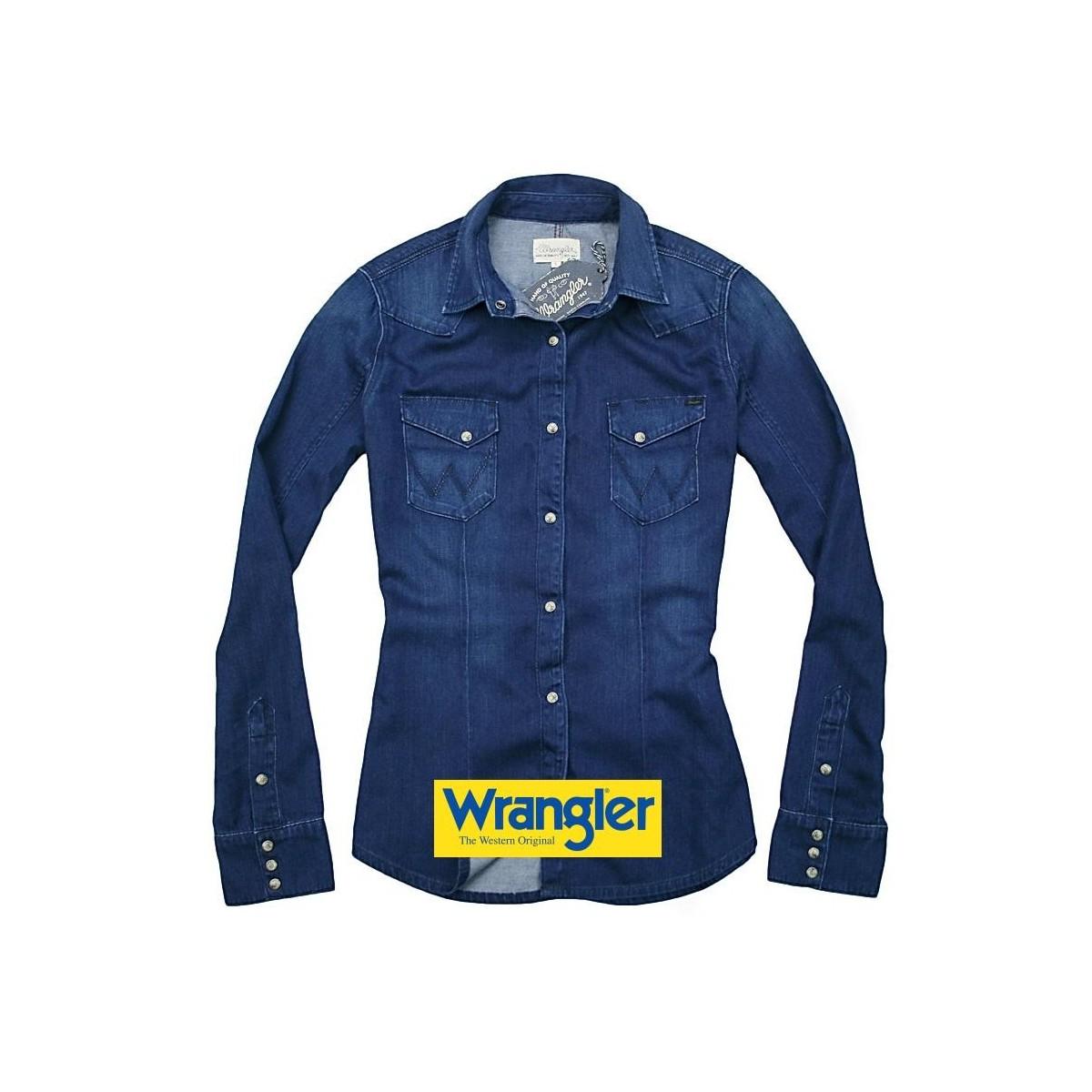 comprare on line 86aa9 44270 CAMICIA BLUE MOON WRANGLER
